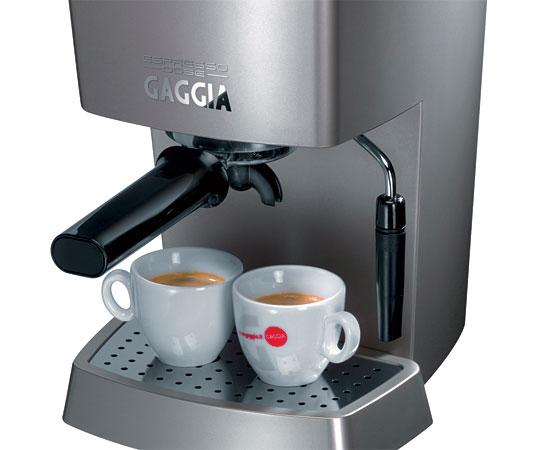 gaggia new espresso dose gaggia coffee machines from. Black Bedroom Furniture Sets. Home Design Ideas